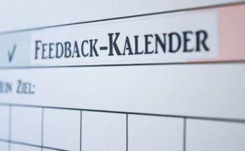 Ziele erreichen - Mehr Motivation für deine Ziele mit dem Feedback Kalender