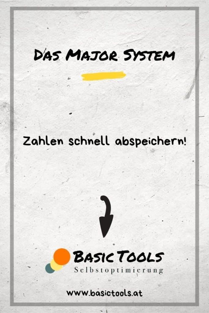 Major System lernen