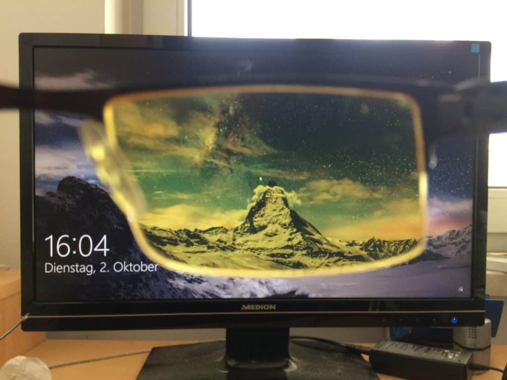 Blaulichtfilterbrille sinnvoll - Test