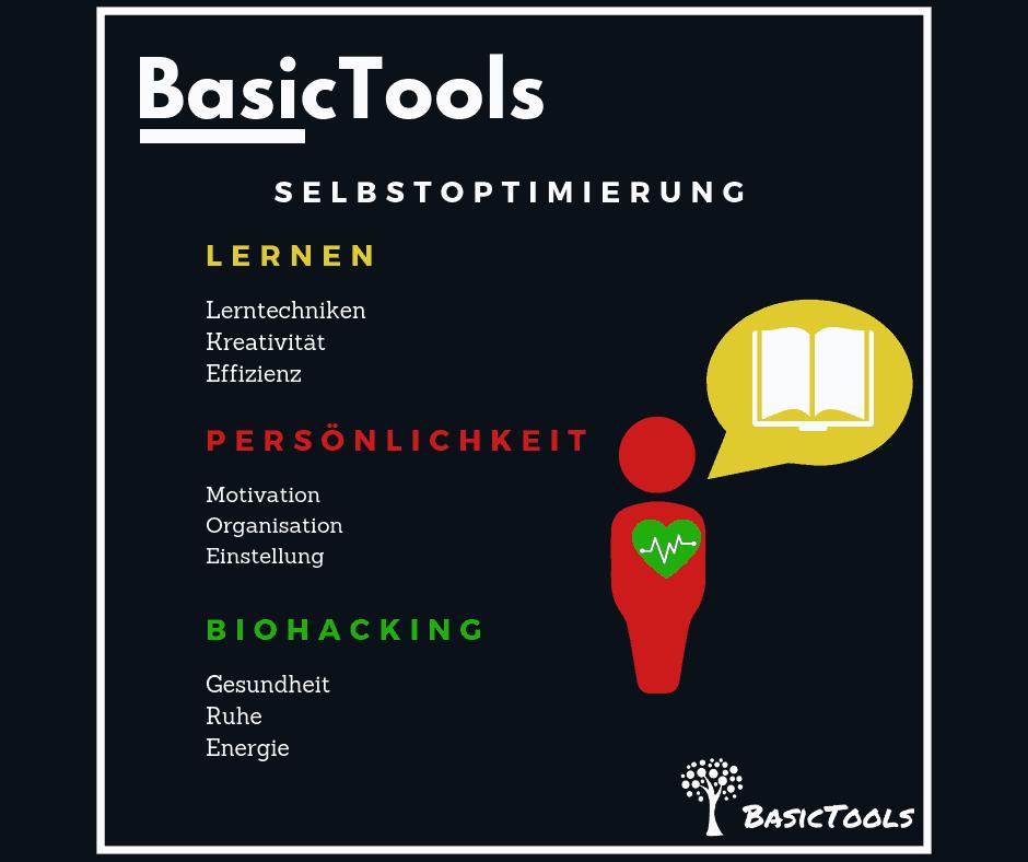 BasicTools Selbstoptimierung und Lernen