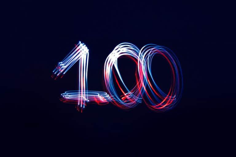 Major System: 100 Liste
