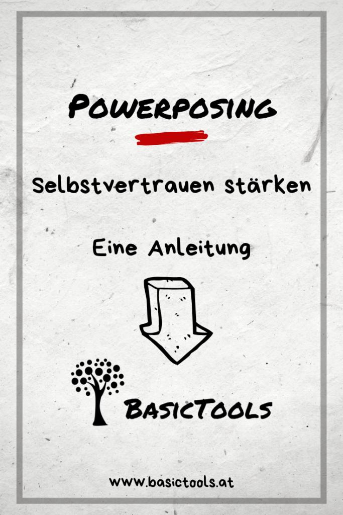 Selbstvertrauen stärken Powerposing Anleitung BasicTools