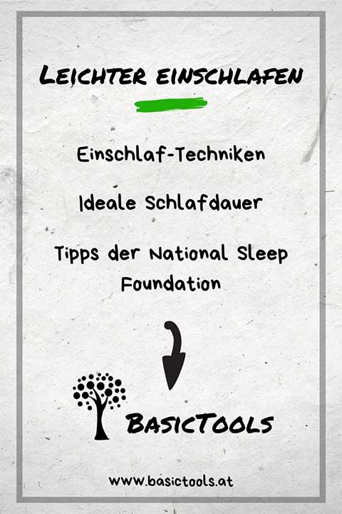 Besser einschlafen Tipps und Techniken