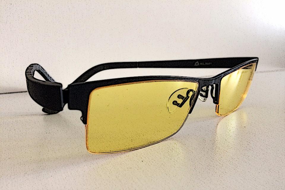 Blaulichtfilter Brille KLIM Optics